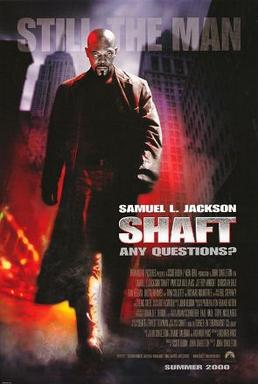 Poster from the film Shaft. Directed By Gordon Parks.