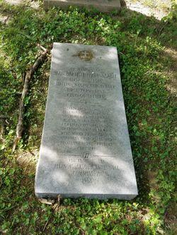 Jean Baptiste DuSable grave at Saint Charles Borromeo Cemetery in Saint Charles, St. Charles County, Missouri.
