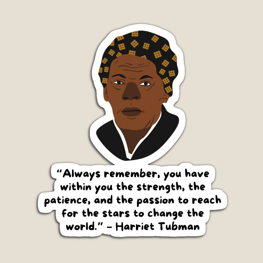 Harriet Tubman Sticker